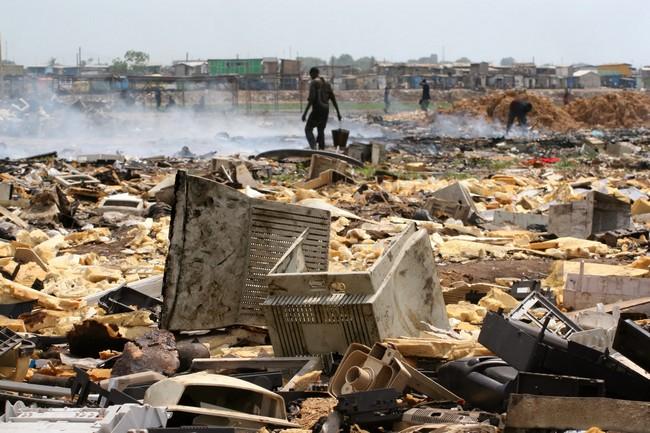 decharge-dechets-electroniques-Ghana