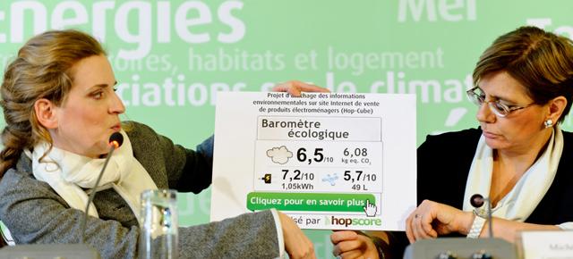"""Conférence de presse """"etiquetage environnemental"""""""